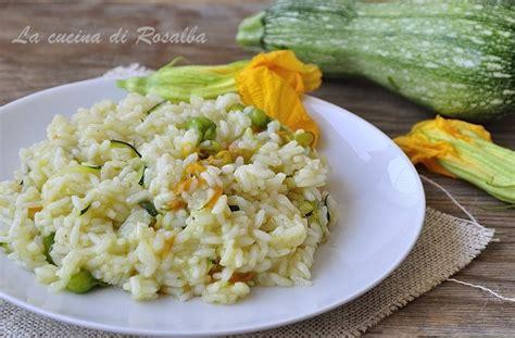 risotto con zucchine e fiori di zucca risotto con zucchine e fiori di zucca la cucina di rosalba