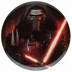 Flatware Sets star wars the force awakens kylo ren plastic plate for
