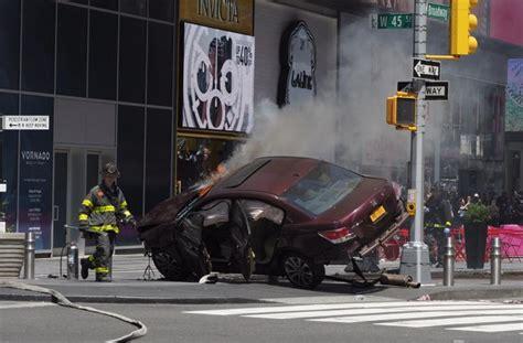 recent car crash articles times square car crash kills 1 injures 22 navy veteran