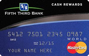 review fifth third bank credit cards credit card catalog credit card comparisons - Fifth Third Bank Gift Card