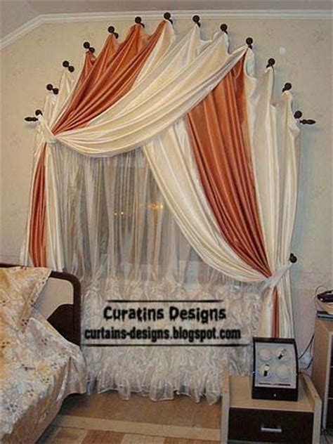 Bedroom Window Curtain Ideas | arched windows curtain designs ideas for bedroom