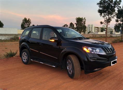 mahindra xuv500 w6 mahindra xuv500 w6 the black beast comes home team bhp