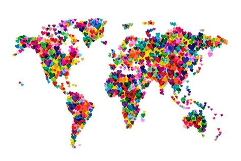 decorative world map artwork  sale  fine art prints
