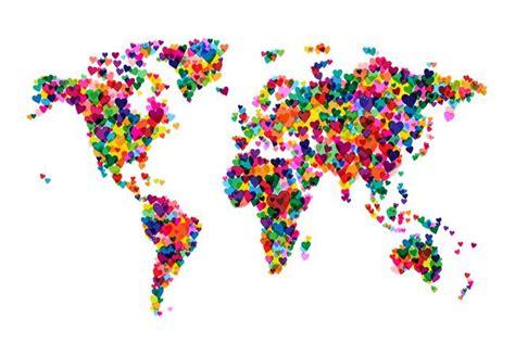 decorative world map artwork  sale  fine art prints