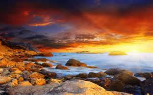 hd photography wallpaper coastline sunset hd photography wallpaper 12 landscape wallpapers free download wallpapers