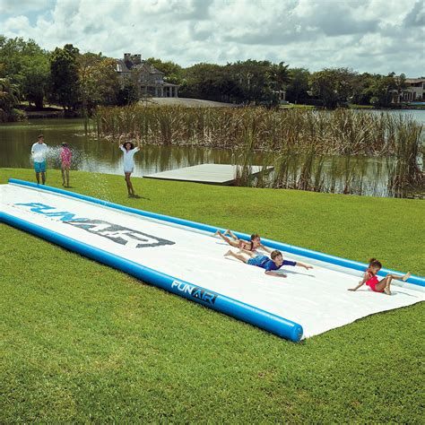 Backyard Water Slide by Backyard Water Slide The Green