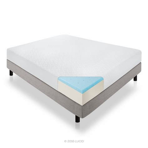 lucid bed lucid gel memory foam mattress