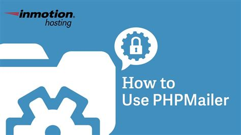 phpmailer tutorial inmotion hosting how to use phpmailer youtube