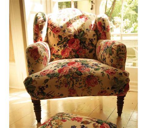 floral armchairs floral velvet armchair cream