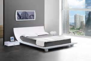 White Contemporary Bedroom Sets Japanese Platform Bed Frame Ideas