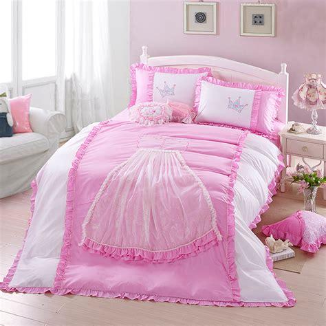 pink princess comforter aliexpress com buy 4pcs beand king queen size princess