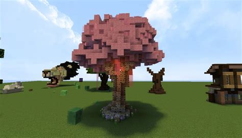 Handmade Minecraft - custom trees minecraft project