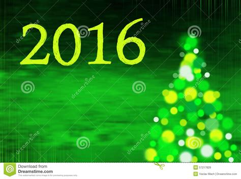 new year 2016 in writing new year background with tree and writing 2016