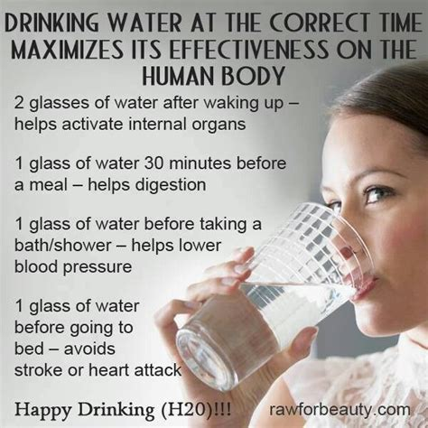 is it to drink water before bed pin by najwa clay edwards on healthy living and food ideas