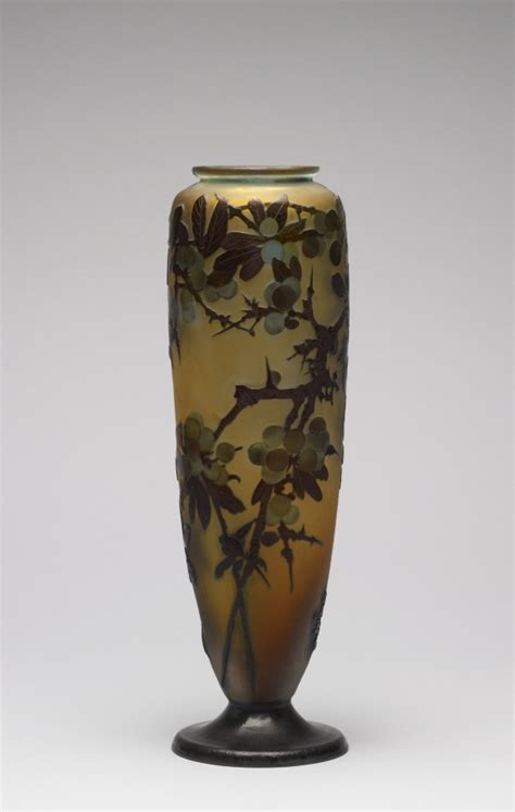 Tree Branches In Vase by Vase With Cherry Tree Branches 183 The Walters Museum