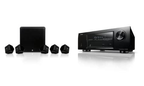 boston acoustics denon home theatre system pack