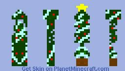 christmas tree minecraft skin