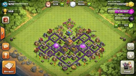 coc unique layout clash of clans builder best town hall 7 layouts heavy com