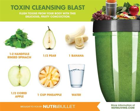 Detox From Much Salt Bullet Drink by Best 25 Nutribullet Recipes Ideas On Healthy
