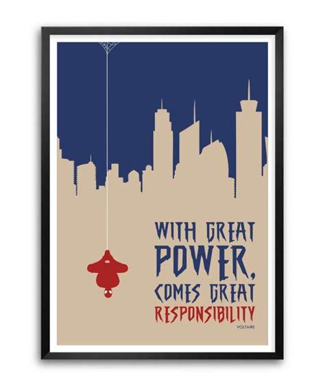 With Great Power with great power comes great responsibility voltaire www