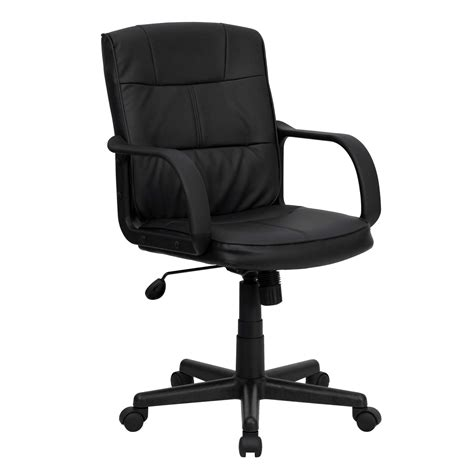 cool office chairs black leather office chairjpg