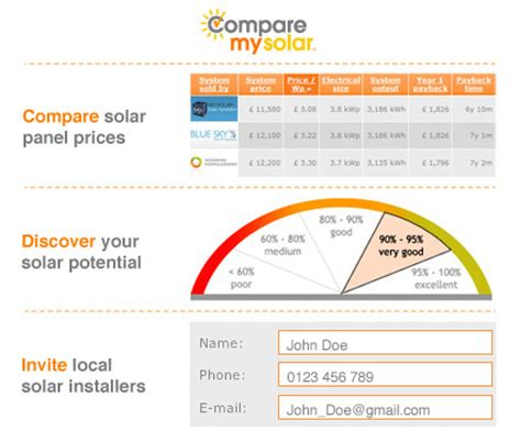 solar pv installation for your home compare quotes