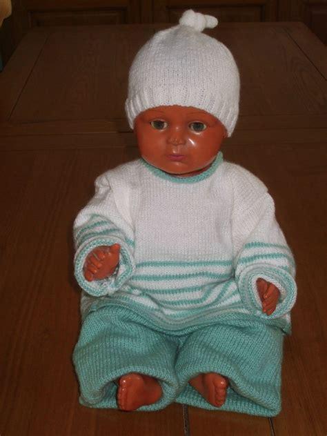 Modèle De Tricot Pour Bébé