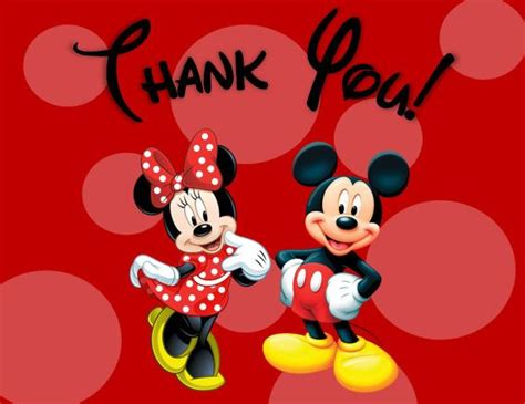 printable thank you cards mickey mouse minnie and mickey mouse thank you card printable digital