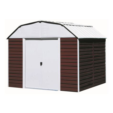Sears Metal Storage Sheds by Arrow Rh108 Shed10 X8 Horizontal 071686140000