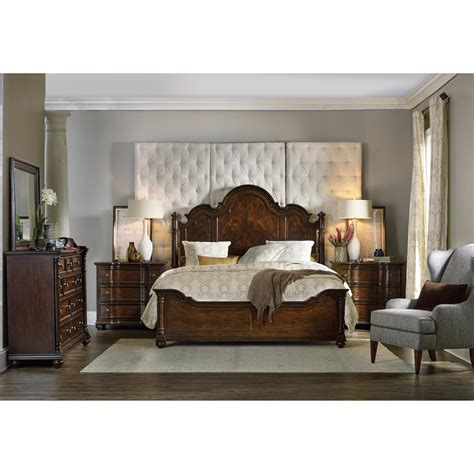 bedroom groups hooker furniture leesburg california king bedroom group
