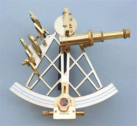 sextant compass eight inch brass sextant from the brass compass