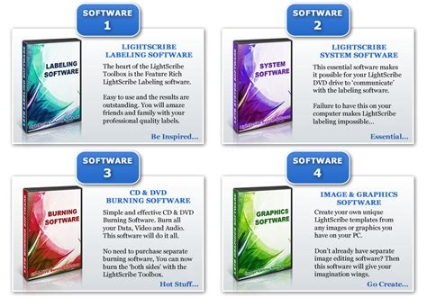 light software lightscribe software free and premium lightscribe