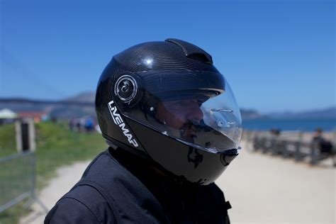 motorcycle helmet augmented reality livemap s augmented reality motorcycle helmet could launch