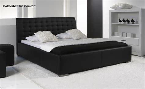 moderne betten 200x200 leder bett polsterbett farbe weiss oder schwarz