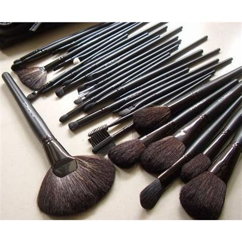 Make Up Brush Set Mac 32pcs mac 32 pcs brush set with black makeup brushes pouch