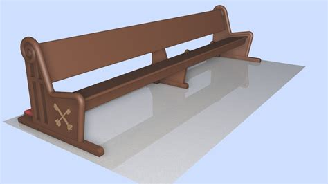 church benches design design church pews wood 3d models youtube