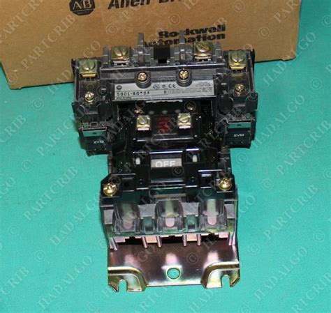 5 pole lighting contactor allen bradley 500l aod94 ac lighting contactor starter 4