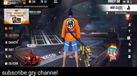 skin gratis  fire data config goku tas elite pass seasons  garena  fire youtube