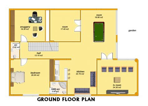 One Bedroom House Plans by Senator 3 Bedroom Villa Ground Floor Plan
