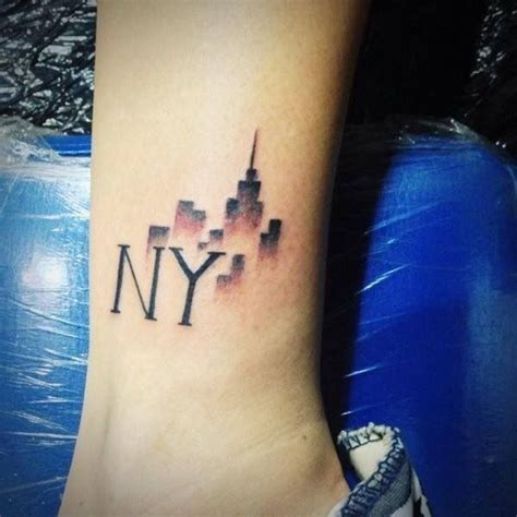 york ink tattoo best 25 nyc ideas on skyline