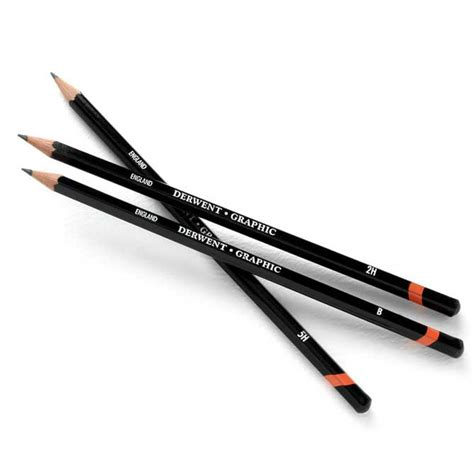 Drawing Pencils by Derwent Graphic Pencils Ken Bromley Supplies