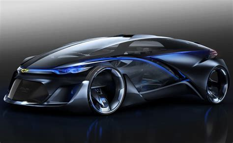 Future Chevrolet Electric Vehicles Chevrolet Fnr Autonomous Electric Concept Vehicle With