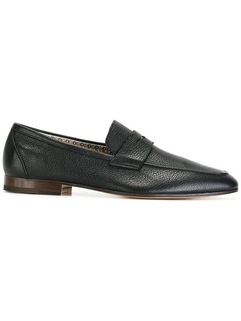 fratelli rossetti loafers fratelli rossetti slip on loafers in blue for lyst