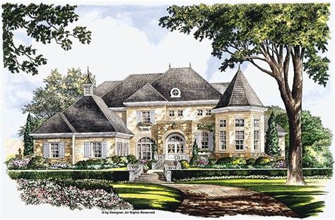 eplans com eplans chateau house plan majestic bay 5134 square