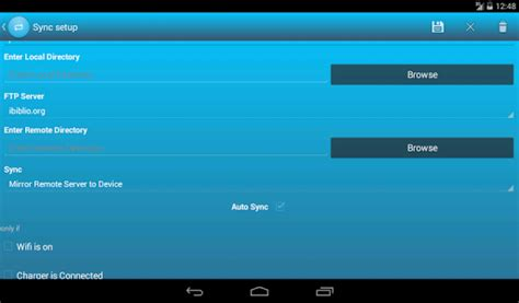 ftp client for android fsyncpro ftp client apps for android