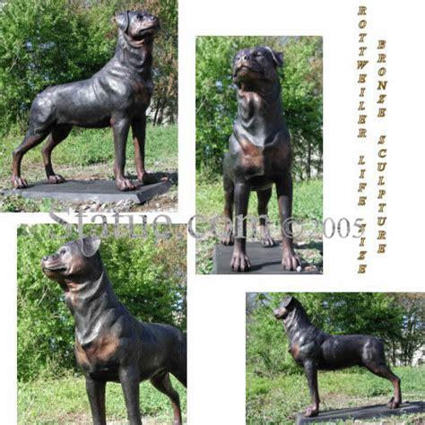 rottweiler lifespan rottweiler size bronze sculpture