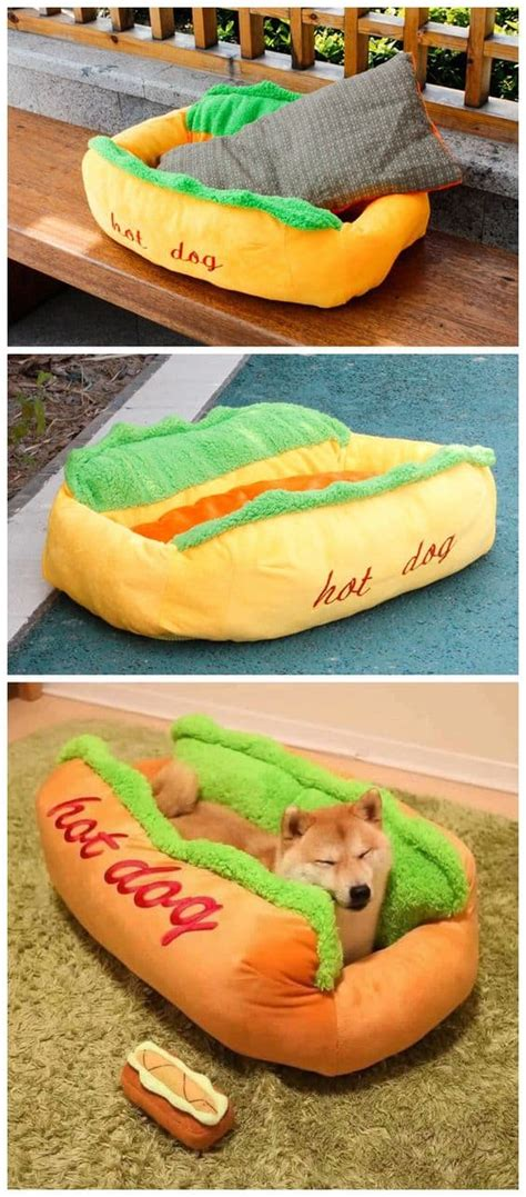 hot dog dog bed easy pillow pet beds your furbabies will love the whoot