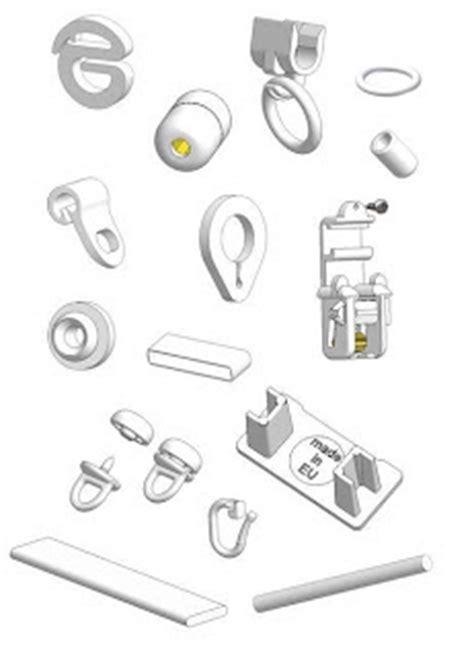 accessori tende a pacchetto accessori per tendaggi e tende tecniche accessori per