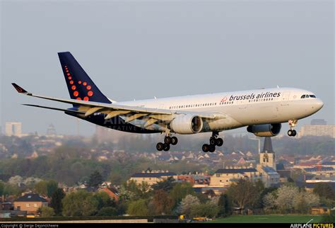 Brussels Airlines Airbus A330 200 by Oo Sfy Brussels Airlines Airbus A330 200 At Brussels