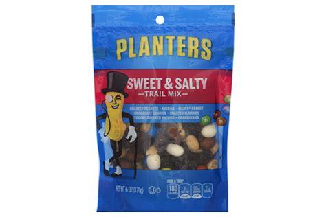 Planters Snack Mix by Planters Sweet Salty Trail Mix 6 Oz Kraft Recipes